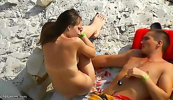Fabulous Homemade movie with Nudism Beach scenes