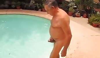 Big naked grandpa